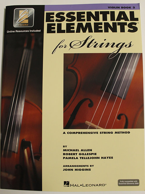 Essential Elements for Strings - Violin Book 2