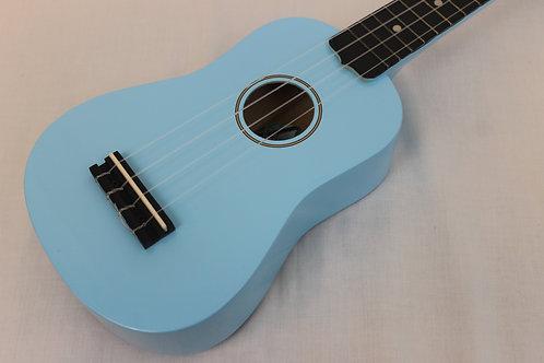 Diamondhead DU-106 Soprano Ukulele with Gig Bag-Light Blue