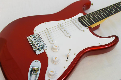 Austin AST100RD Double Cutaway Electric Guitar-Red