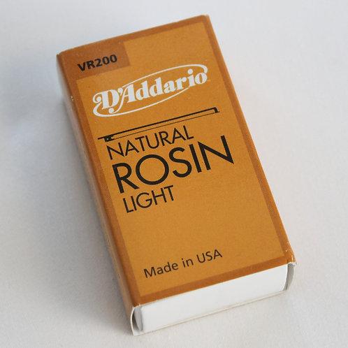 D'Addario VR200 Violin Rosin, Light