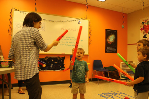 fun with boomwhackers