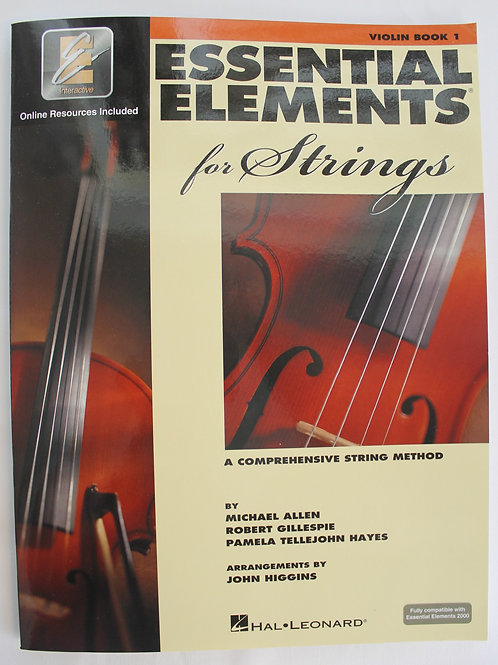 Essential Element for Strings - Violin Book 1