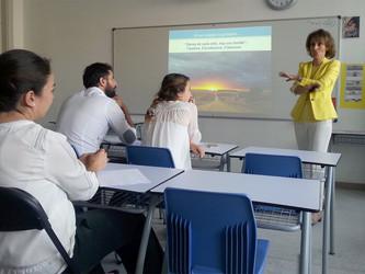 Jornada de formación de profesores con Maite Mijancos y Alfonso Aguiló