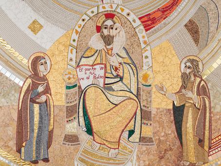 Obra iconográfica de Rupnik en la parroquia de El Salvador