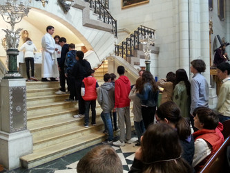 Educación Secundaria visita la Catedral de la Almudena