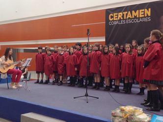María Teresa participa en el IV Certamen de Coros del Colegio Alborada