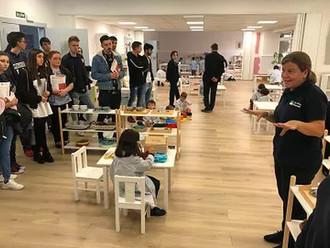 """El """"Montessori Peñacorada"""" genera interés en más de 200 universitarios"""