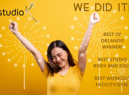 Studio K Wins Best of Orlando!