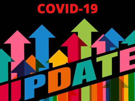 Updated Coronavirus Information - 7/29/21