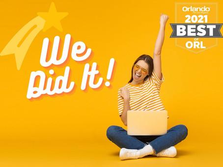 Studio K Named Best of Orlando!