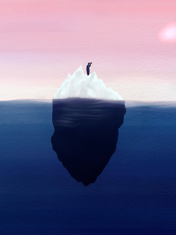 Iceberg.jpg.jpegSoon there will be nothing left to look