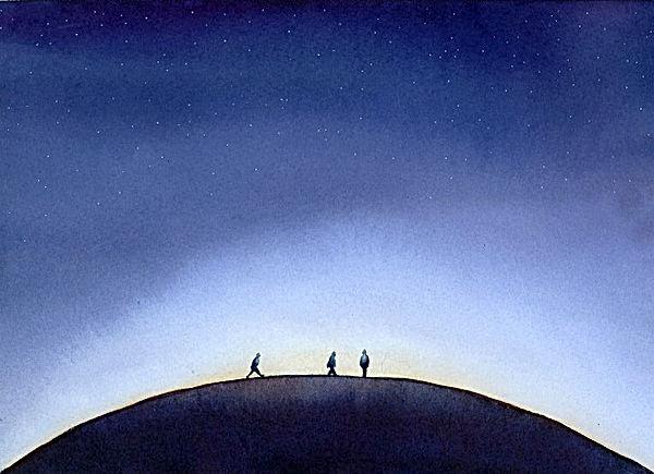 La marche des solitaires