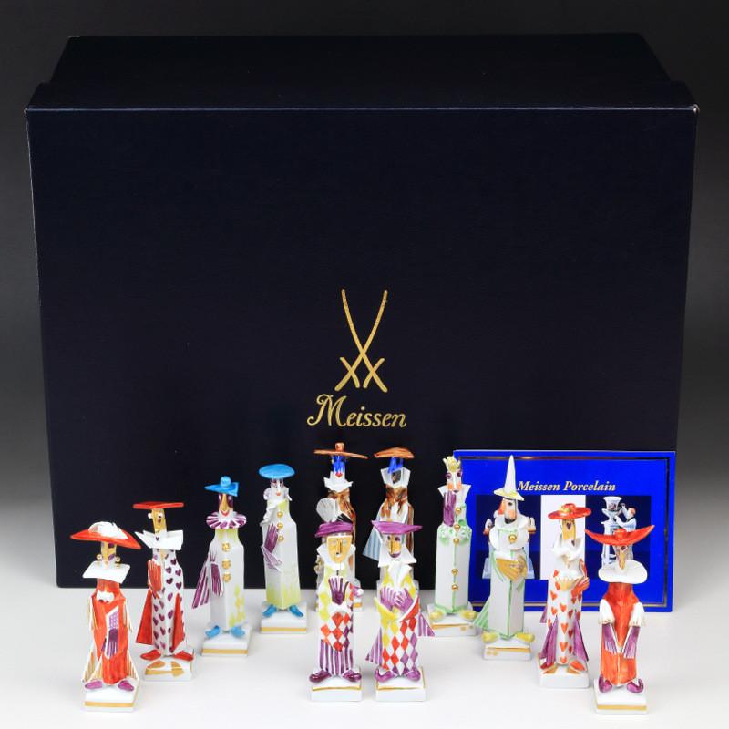 strang meissen フィギュリン マイセン シュトラング 人形 入荷予定 珍品 現代マイセン5人組 限定 現代アート セット フルセット