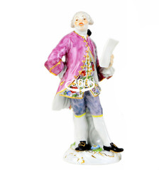 マイセン 世界限定 ペア人形 フィギュア フィギュリン 声楽家 ケンドラー 希少高額モデル 完売作品 男性