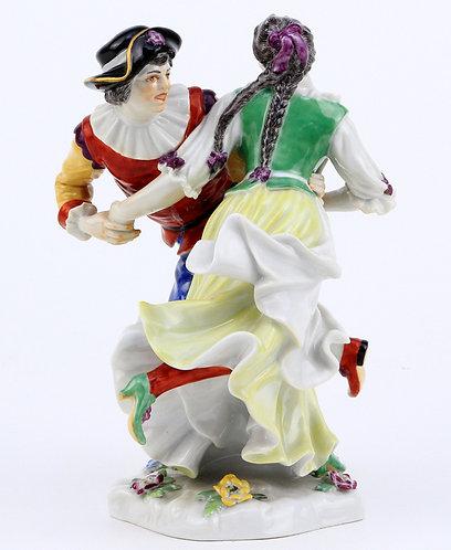 マイセン 人形 フィギュア ダンシングカップル 1930年 ケーニッヒ作