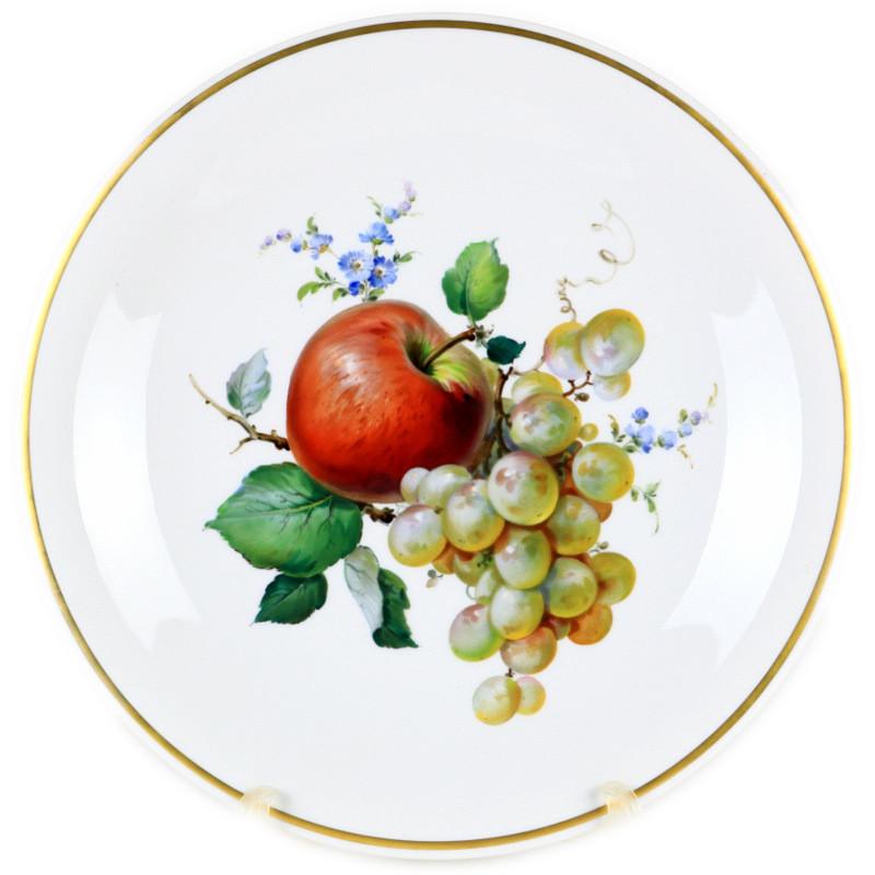 マイセン  珍品  入荷予定  meissen  Wandbild  フルーツ  装飾絵皿  陶板画