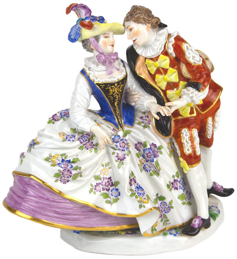 超希少  限定  マイセン  フィギュリン  19世紀  日本未発売  特注品  珍品  人形  meissen  古マイセン  入荷予定  古典  プラチナコレクション  世界限定  ロココ  Rococo  18世紀  メイヤー  meyer  特注  レア  オリジナル時代  高額作品  大作  リミテッド・エディション・マスターピース  一点もの  Unikat  雅宴  Gallant