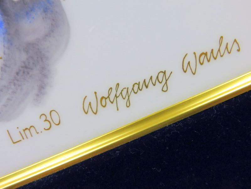 1001 現代アート 超希少 限定 werner アラビアンナイト マイセン マイセン磁器友の会 ヴェルナー 陶板画 プラーク 日本未発売 FdMP 特注品 meissen 世界限定 珍品 入荷予定 現代マイセン5人組 マイセン磁器創立300周年