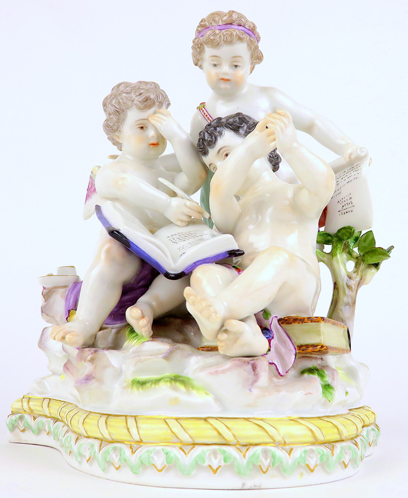 超希少 新古典主義 天使 寓意 神話 マイセン 古典 allegory 19世紀 フィギュリン 18世紀 acier アシエ ロココ mythology meissen 人形 珍品 古マイセン 入荷予定 天使群像 プラチナコレクション Meissen Collector's Catalogue