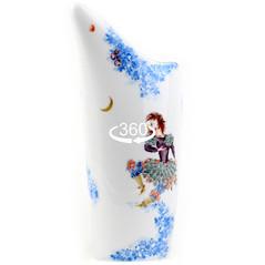 マイセン 真夏の夜の夢 ミッド サマーナイト ドリーム 日本未発売 大型 花瓶 アラビアンナイト作者 故H.ヴェルナー レア W