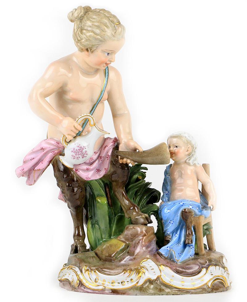 超希少 寓意 マイセン 日本未発売 珍品 meissen ケンドラー 古典 kaendler allegory フィギュリン 19世紀 18世紀 アシエ 人形 古マイセン 入荷予定 新古典主義 acier 天使