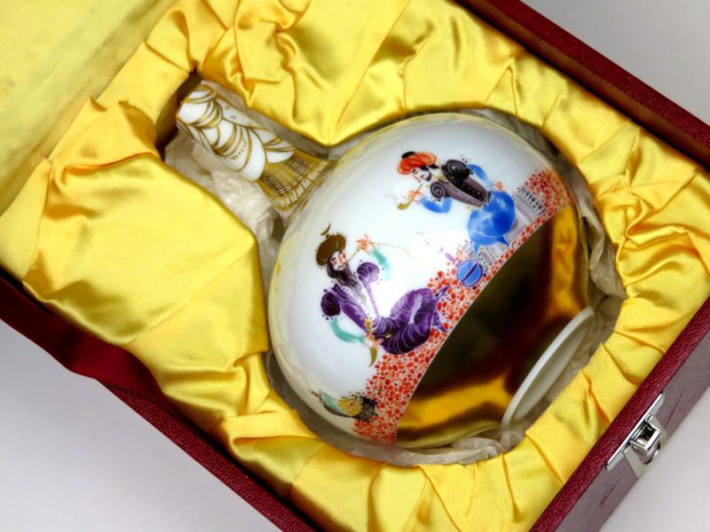 1001 現代アート 超希少 限定 激安 アラビアンナイト マイセン werner フラワーベース ヴェルナー 日本未発売 世界限定 珍品 特注品 入荷予定 現代マイセン5人組 花瓶 21世紀 猟師のほら話