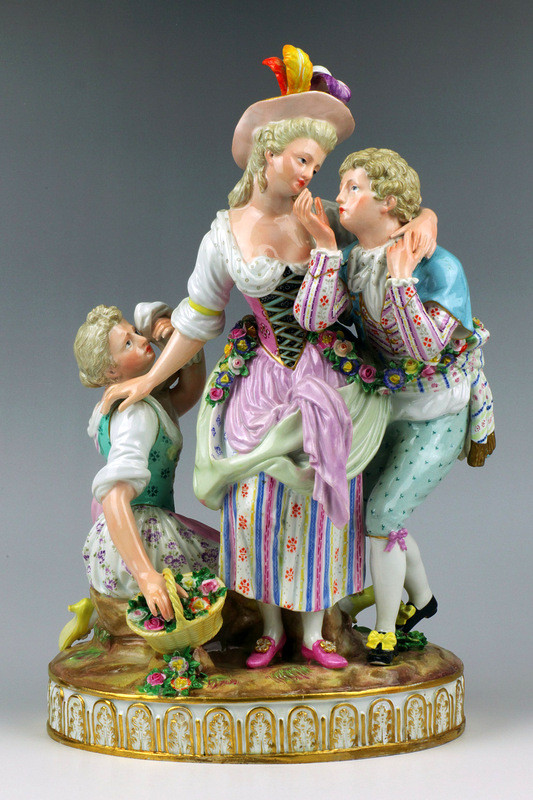シェーンハイト schonheit meissen フィギュリン マイセン 人形 入荷予定 19世紀 ロココ 古マイセン