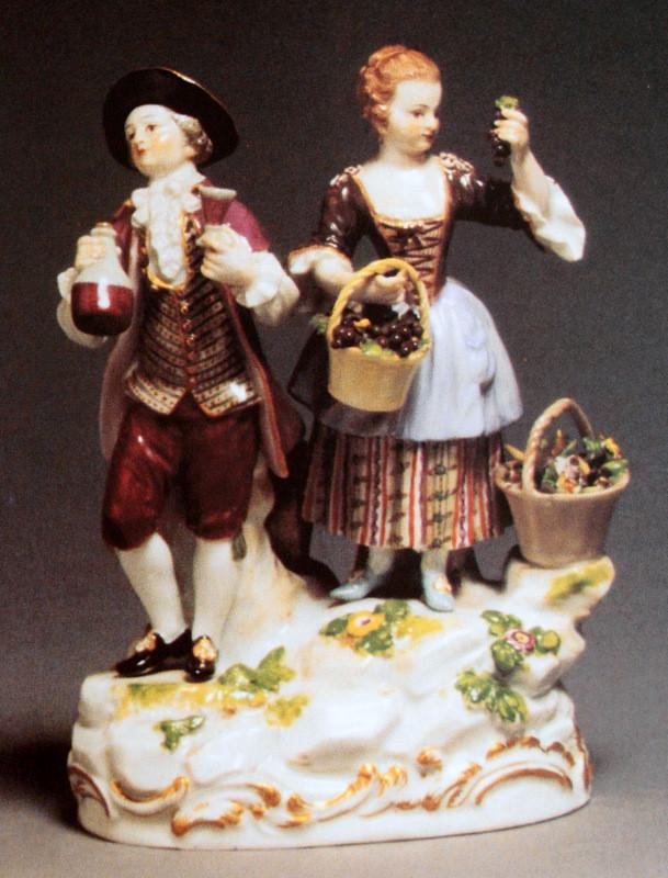 19世紀 acier 18世紀 meissen アシエ ガーデナー フィギュリン マイセン ロココ 人形 入荷予定 古マイセン 新古典主義 珍品 限定