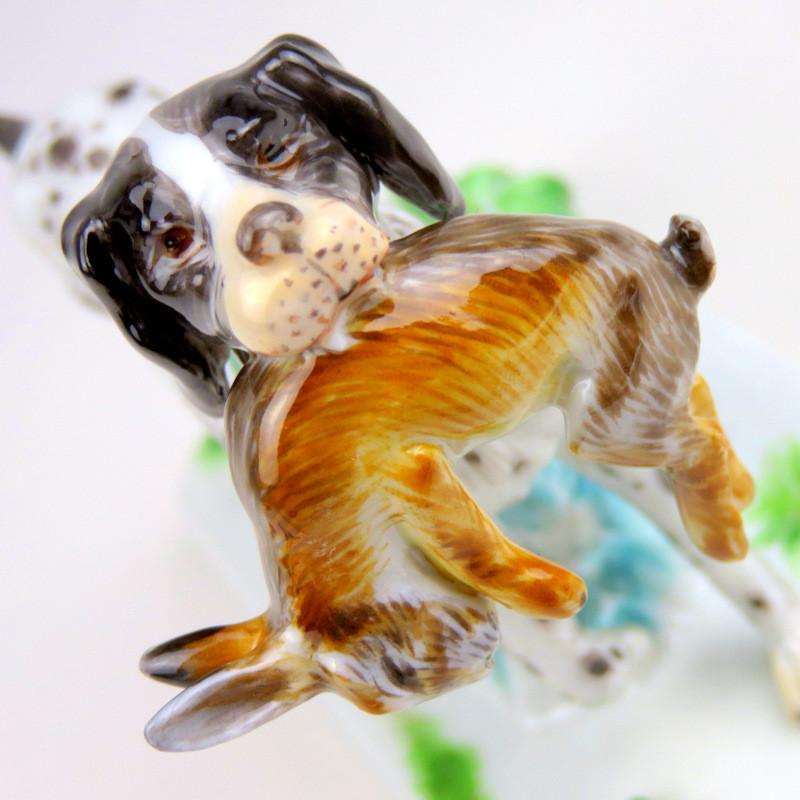 マイセン meissen フィギュリン 人形 入荷予定 珍品 20世紀 超希少 日本未発売 アールヌーヴォー 犬 ポール・ウォルター Paul Walther ユーゲントシュテール 狩猟
