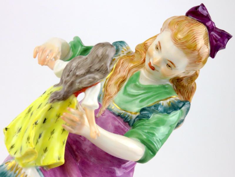 マイセン meissen フィギュリン 人形 入荷予定 珍品 Paul Helmig 20世紀 超希少 日本未発売 高額ライン 古マイセン パウル・ヘルミッヒ ヘンチェル Hentschel 世界限定