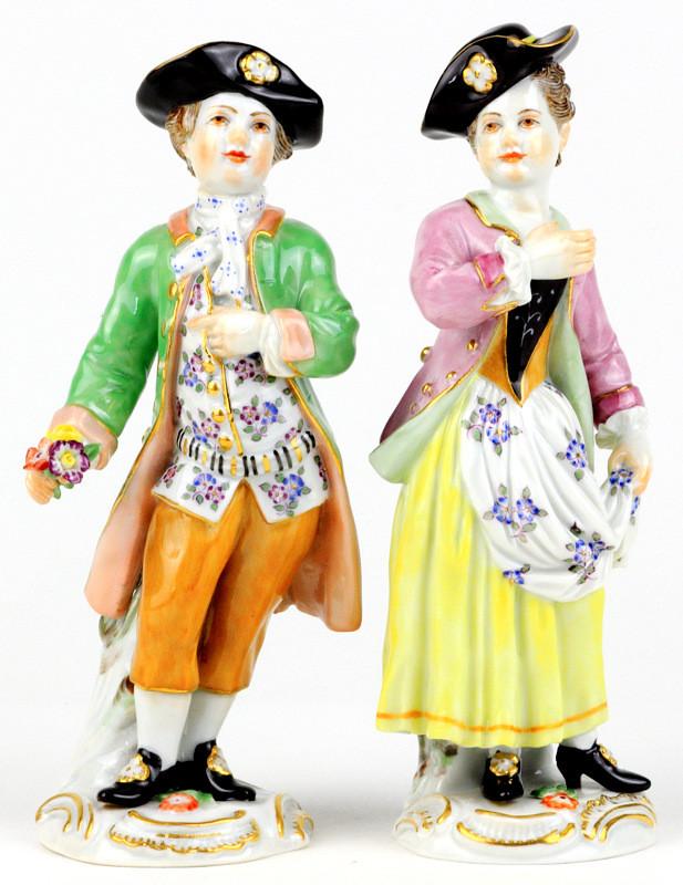 庭師の子供たち Gardener's Children 超希少 マイセン ガーデナー 珍品 meissen ケンドラー 古典 kaendler フィギュリン 18世紀 人形 入荷予定 新古典主義 ペア