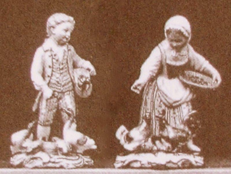 超希少 マイセン ガーデナー 珍品 meissen ケンドラー Gardener's Children 庭師の子供たち kaendler フィギュリン 19世紀 18世紀 人形 古マイセン 入荷予定 新古典主義 Gardener ペア