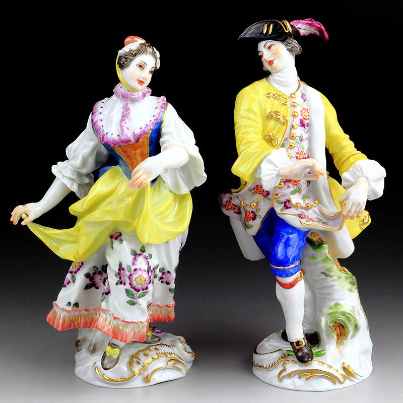 オリエンタル Oriental 東洋思想 超希少 マイセン 珍品 meissen ケンドラー ジャポニズム 古典 ライネッケ ピーター kaendler フィギュリン 18世紀 人形 入荷予定 ペア Reinecke Peter