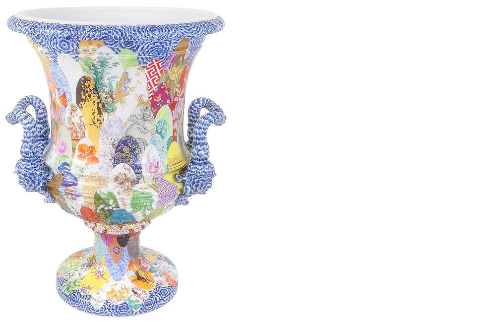 マイセン 陶板画 花瓶 アンティークマイセン 古マイセン 限定作品 世界限定 ウニカート