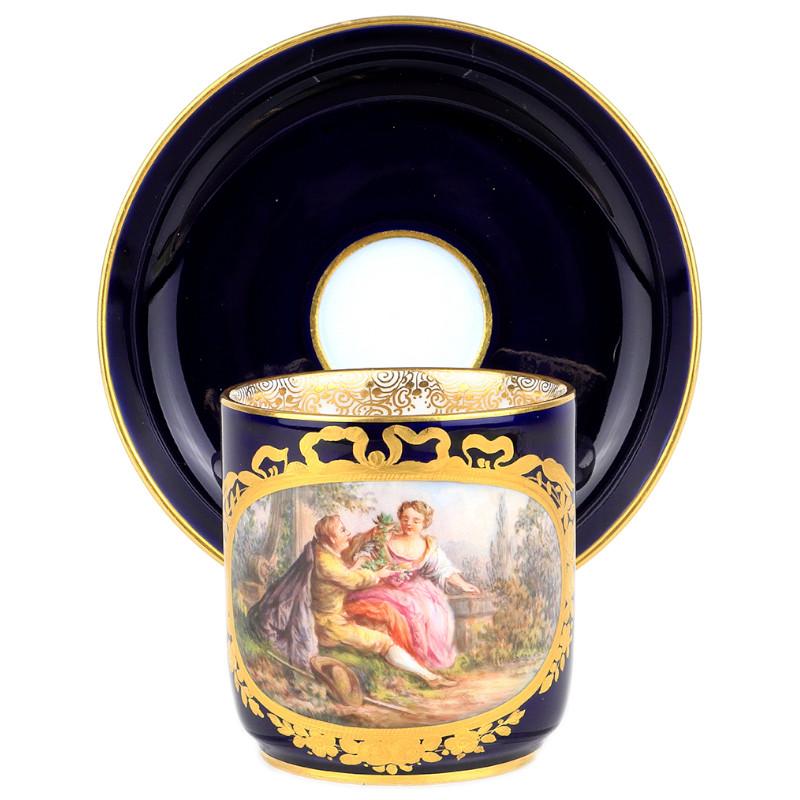超希少  新古典主義  細密画  マイセン  限定  プレート  ワトー  Watteau  古典  トリオ  19世紀  ロココ  日本未発売  珍品  meissen  古マイセン  セット  入荷予定  王侯貴族文化  牧歌的  キャビネットプレート  装飾絵皿  Rococo