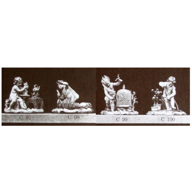 kaendler, ケンドラー, フィギュリン, マイセン, 人形, 珍品, 入荷予定, meissen, セット, 神話, mythology, 寓意