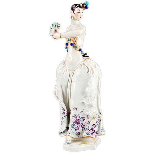 マイセン 人形 フィギュア フィギュリン パウルショイリッヒ 生誕100周年記念限定制作 「スペインダンサー~Spanische Tänzerin」