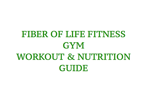 Gym + Nutrition Guide