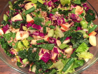 Detox Apple Salad.