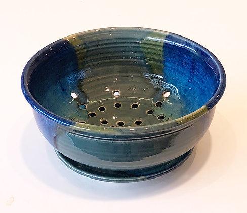 Blue Jade Berry Bowl
