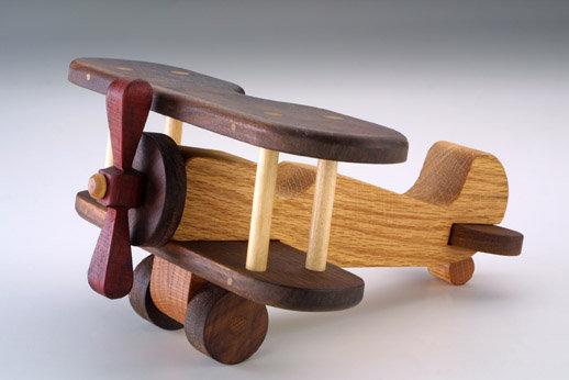 Biplane Executive Toy