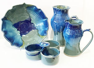 Biff Bourne pottery