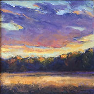kathleen mcdonough Field Grass- Late Day