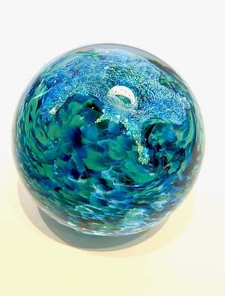 Dichroic Glass Paperweight