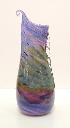 Organic Blown-Glass Vase