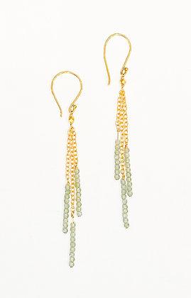 Apatite Bead Earrings