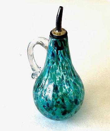 Blown Glass Oil Bottle