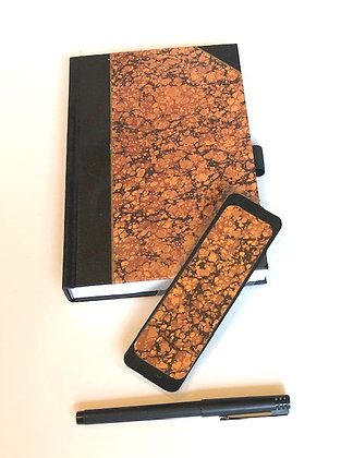 Unlined Journal With Bookmark & Pen