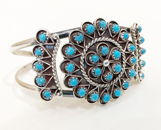 Native American Bracelet With Turquoise