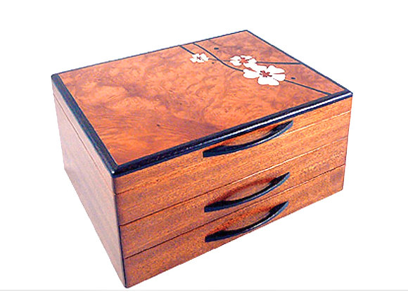 Moonflower Jewelry Box